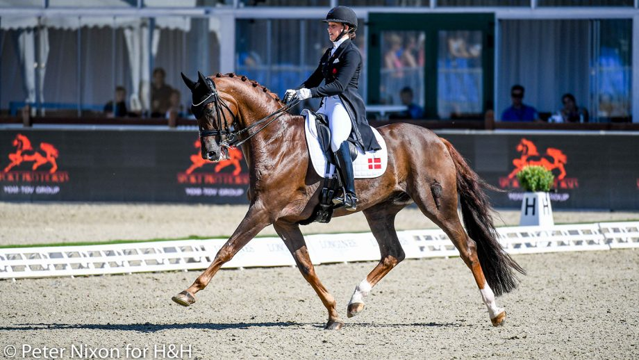 European Dressage Championships - Cathrine Dufour and Bohemian