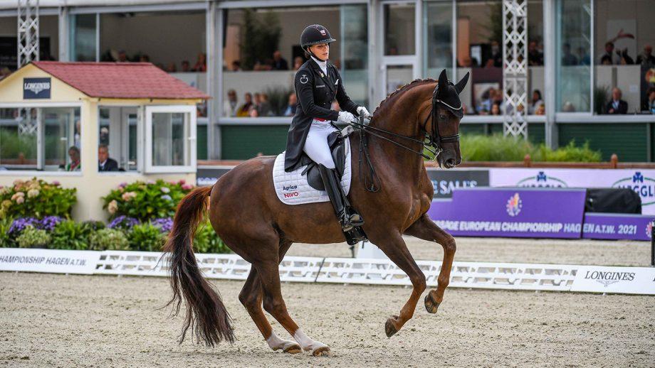 European Dressage championships Cathrine Dufour