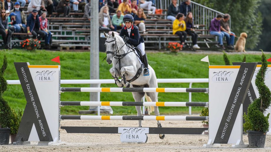European Eventing Championships showjumping: Kitty King and Vendredi Biats