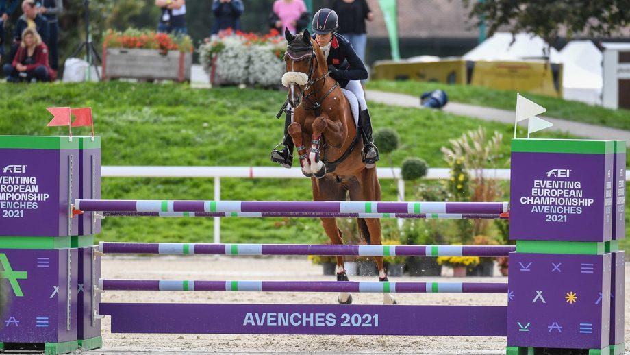 European Eventing Championships showjumping: Sarah Bullimore and Corouet