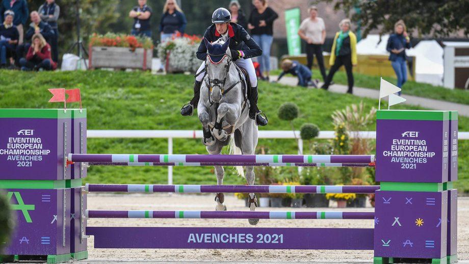 European Eventing Championships showjumping: Maxime Livio and Api Du Libaire