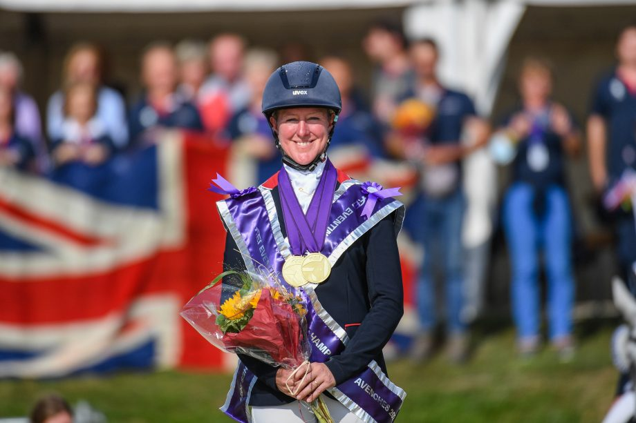 European Eventing Championships results Nicola Wilson on the podium