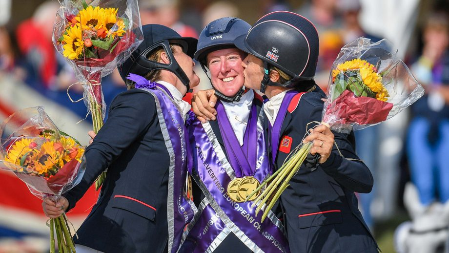 British equestrian success: European Eventing Championships results: Nicola Wilson leads the Brits to team gold and clean sweep of individual medals