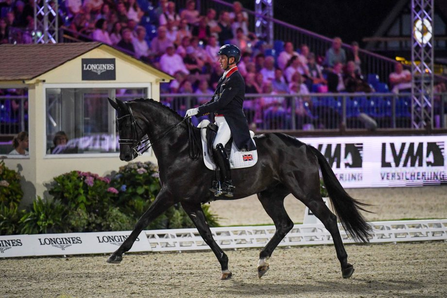 European Dressage Championships Carl Hester and En Vogue in the Grand Prix special