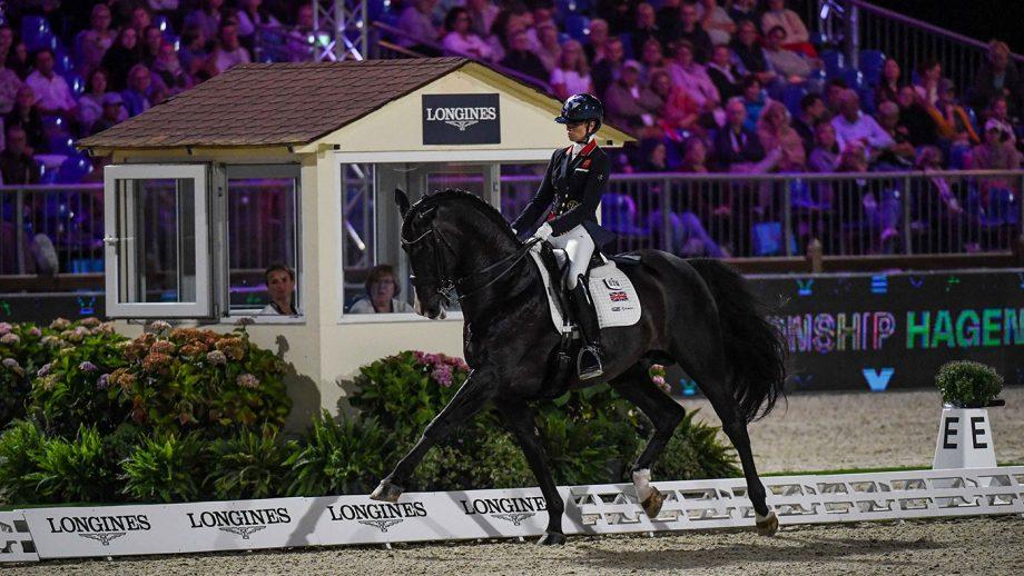 European Dressage Championships Lottie Fry