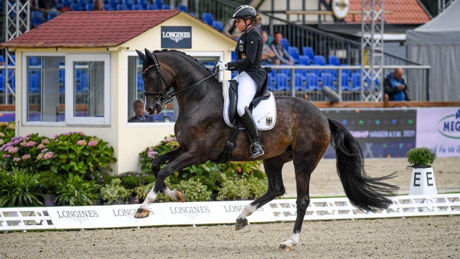 Dressage European Championships Grand Prix Dorothee Schneider