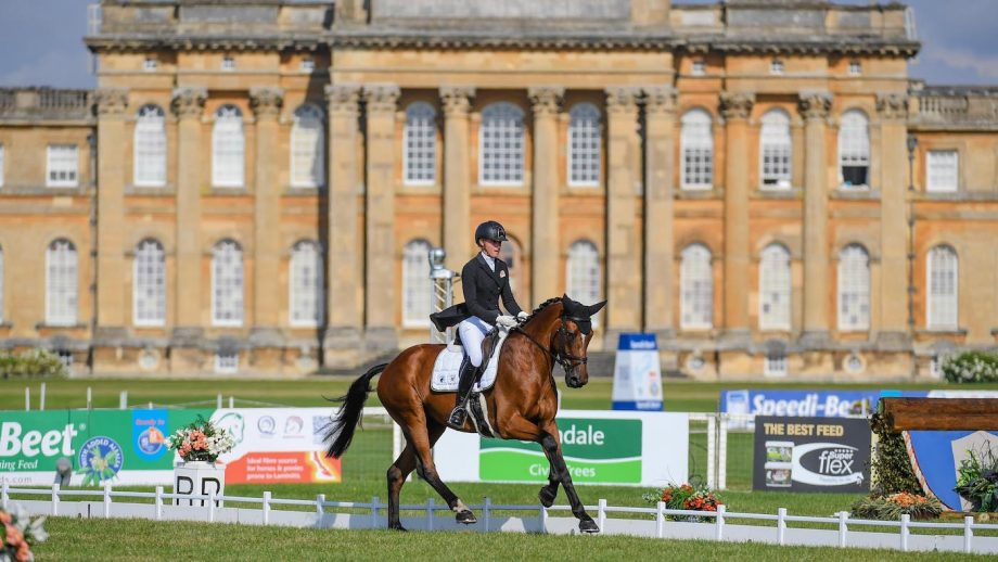 Blenheim Horse Trials cross-country: Emily King and Valmy Biats in the CCI4*-L
