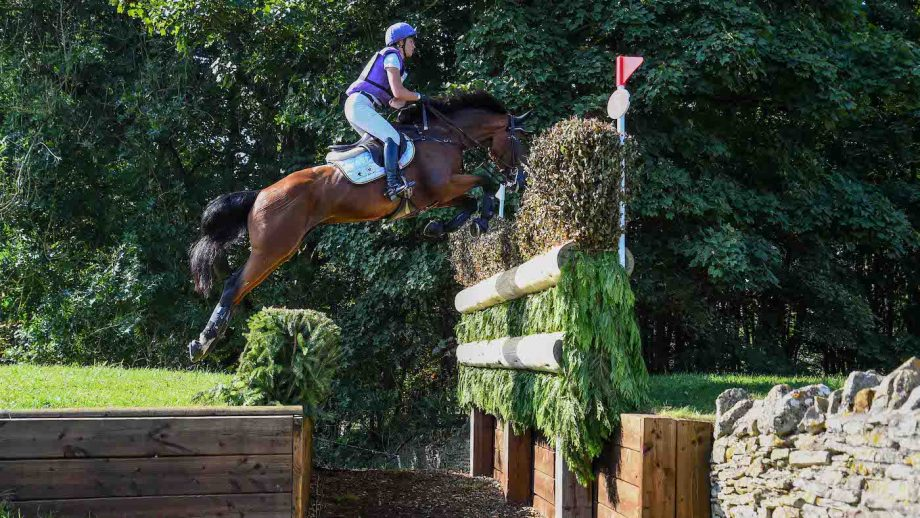Blenheim Horse Trials cross-country: Emily King and Valmy Biats