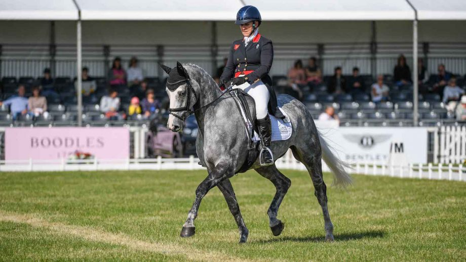 Blenheim Horse Trials dressage: Gemma Tattersall and Flash Cooley have taken an early lead in the young horse class