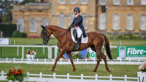 Blenheim Horse Trials dressage: Gemma Tattersall and Jalapeno