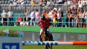 European Showjumping Championships Steve Guerdat