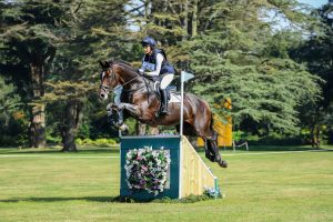 Blenheim horse trials cross-country: Holly Needham and Forever Noble