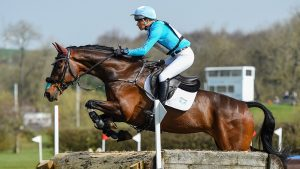 European Eventing Championships cross-country: British squad members Izzy Taylor and Monkeying Around