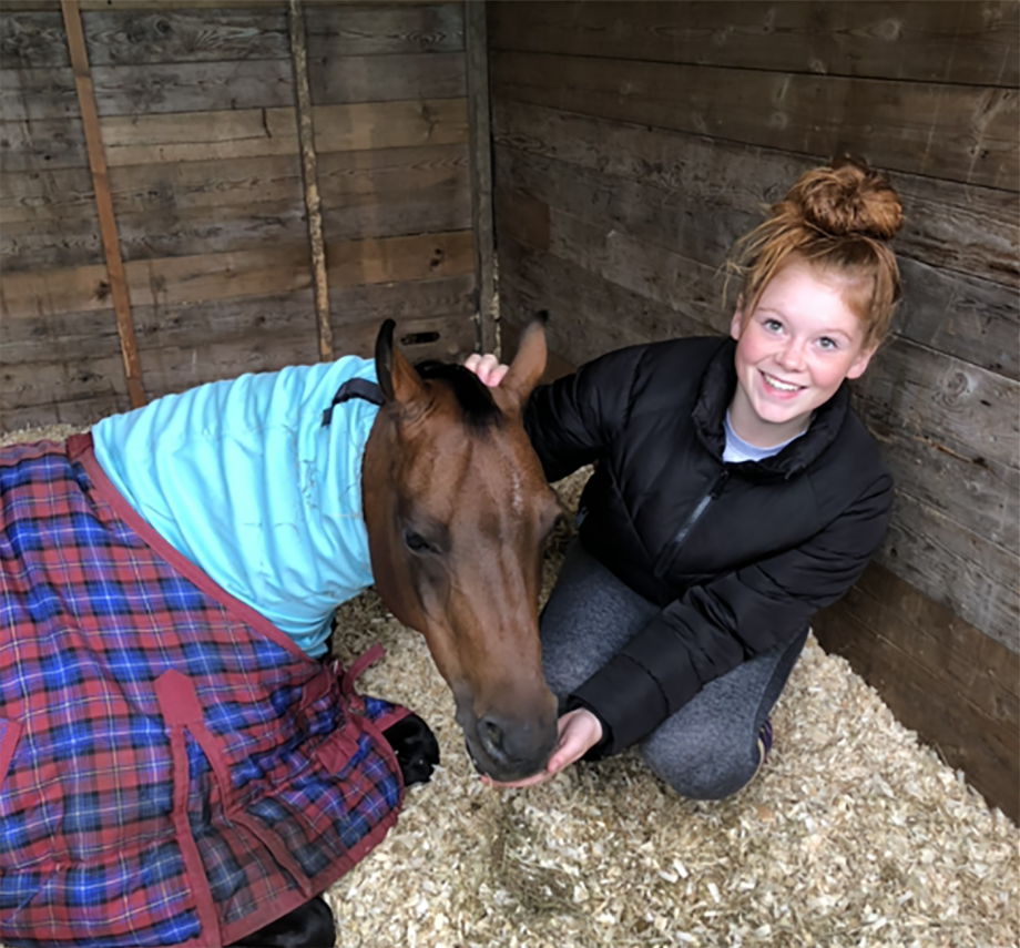 Zara Mailer and Chanlee Delightful Dan are off to HOYS 2021