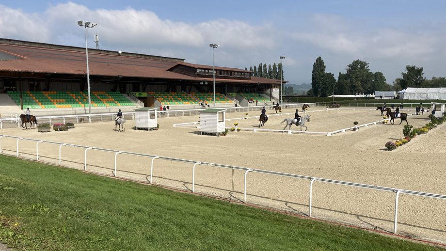 European Eventing Championships dressage times: the dressage starts at 10am local time