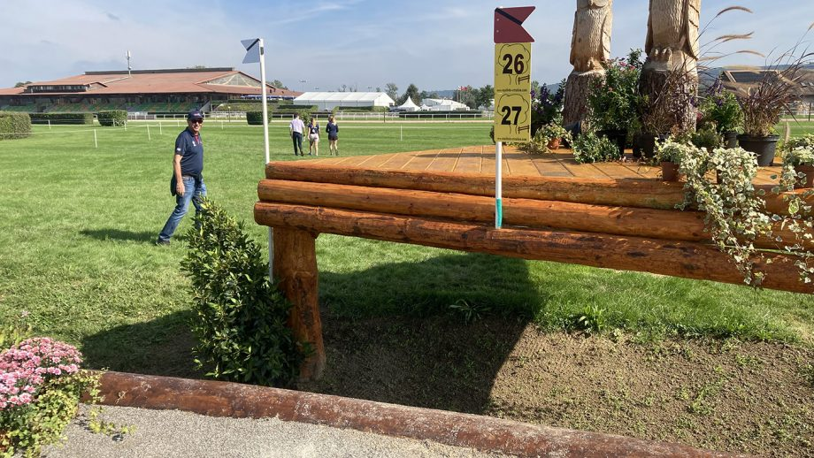 European Eventing Championships cross-country times: when will the riders tackle this course?