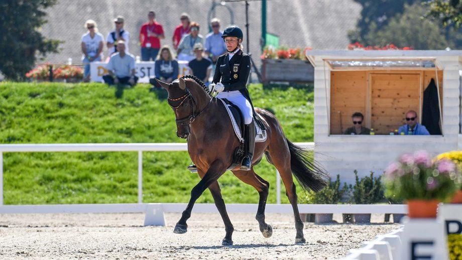 European Eventing Championships: Ingrid Klimke and SAP Hale Bob OLD