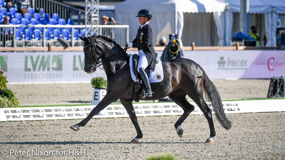 European Dressage championships - Isabell Werth and Weihegold OLD