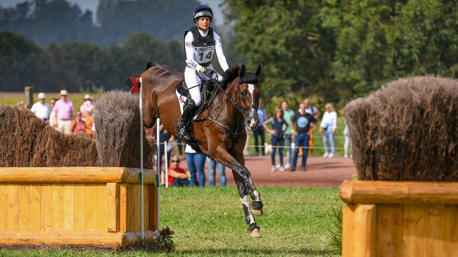 European Eventing Championships cross-country: Izzy Taylor and Monkeying Around
