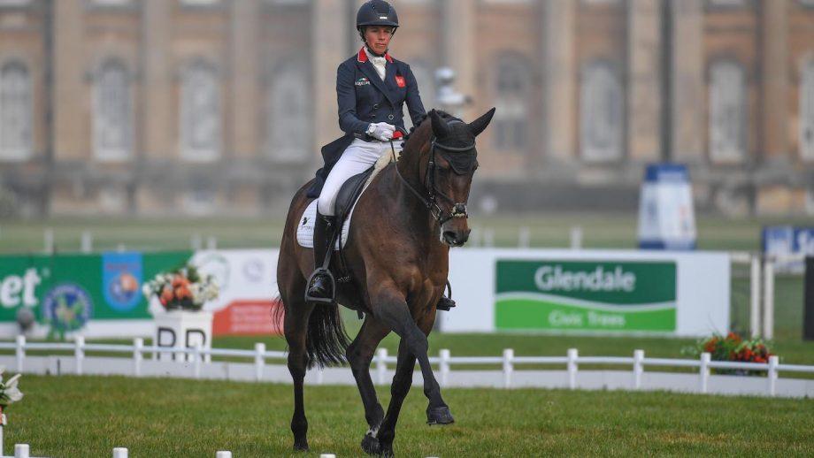 Blenheim Horse Trials dressage: Izzy Taylor and Springpower