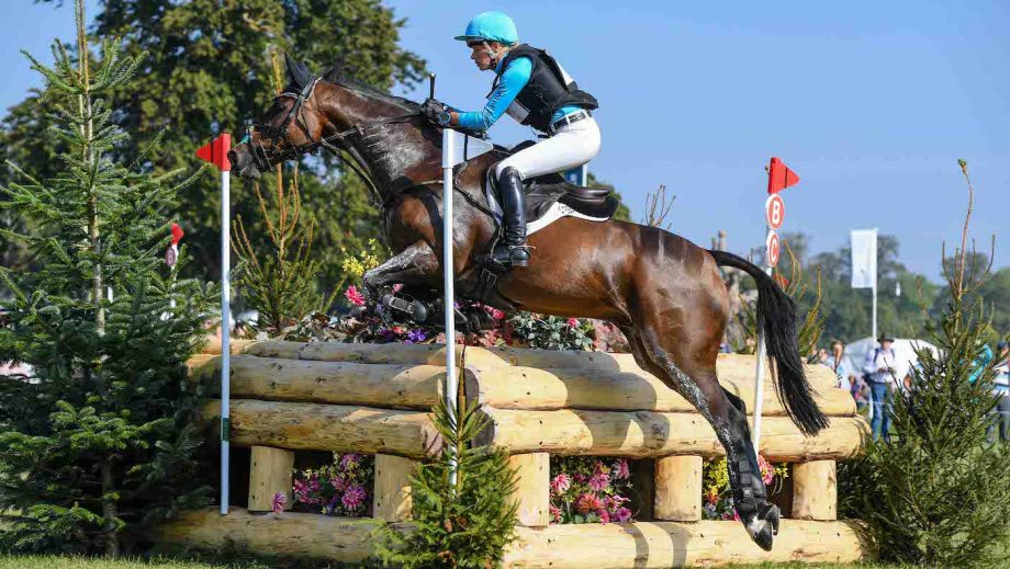 Blenheim Horse Trials cross-country: Izzy Taylor on Springpower