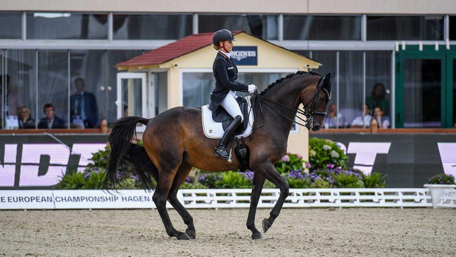 European Dressage championships Jessica von Bredow-Werndl and TSF Dalera BB