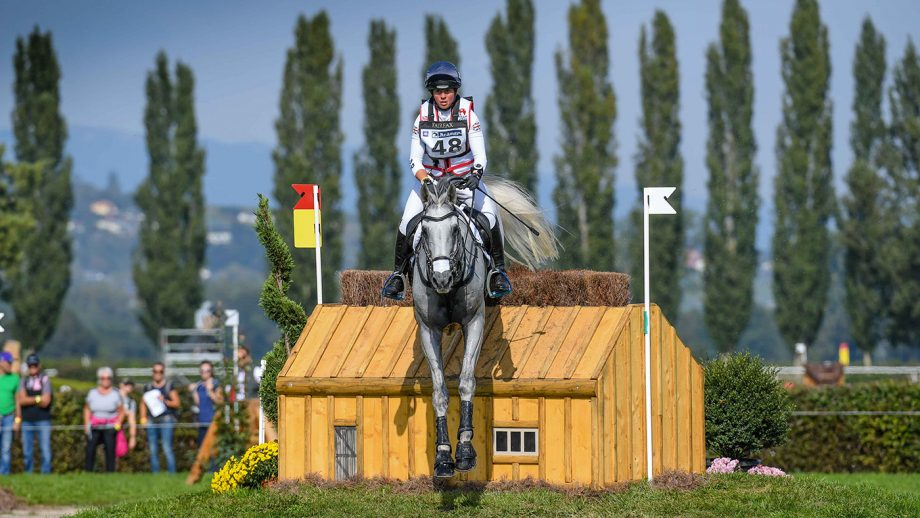 European Eventing Championships cross-country: Kitty King and Vendredi Biats