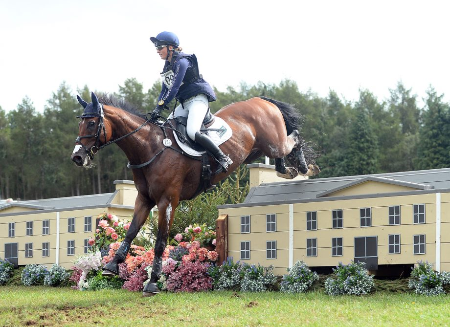Laura Schroter and Willem Van Wup, winners at Cornbury House Horse Trials
