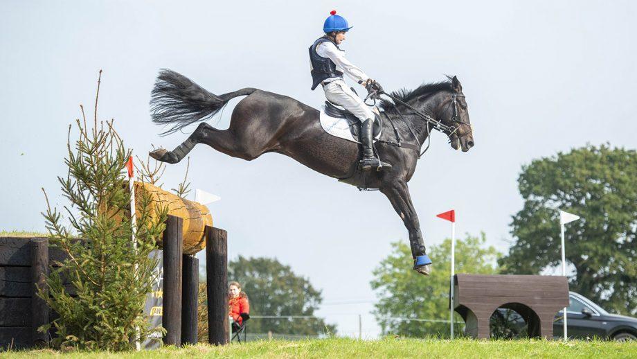 Gaspard Maksud riding Spirit's Gemini at South of England Horse Trials