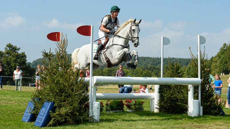 Bicton Horse Trials cross-country: Padraig McCarthy and HHS Noble Call