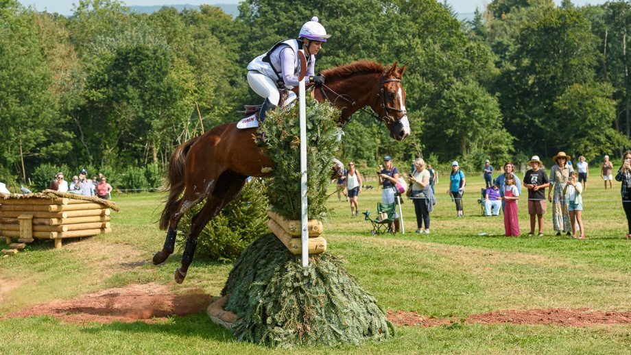 Bicton Horse Trials cross-country: Gemma Tattersall and Chilli Knight