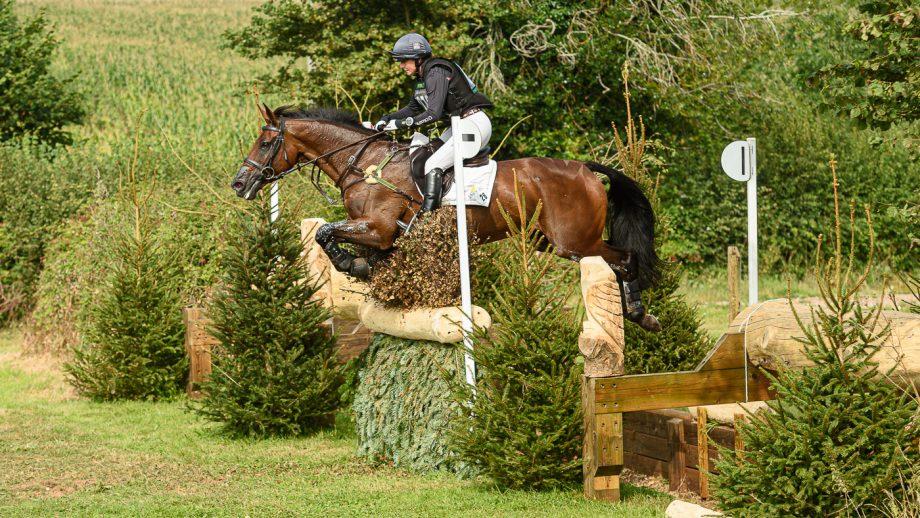 Bicton Horse Trials cross-country: Piggy March and Vanir Kamira