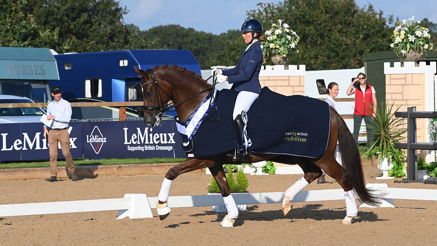 'Remembering my test was a bonus!': former jumping rider claims prelim title at National Dressage Championships