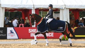 National Dressage Championships - Angharad Harries and Classic Bee Ge
