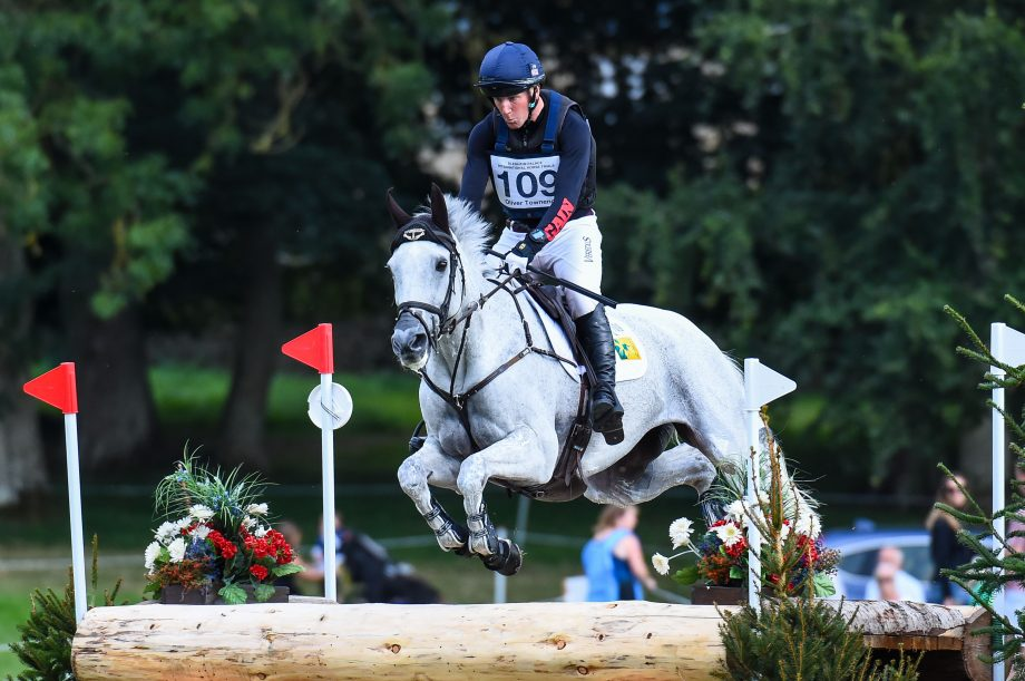 Blenheim horse trials: Oliver Townend and Swallow Springs jump clear across country