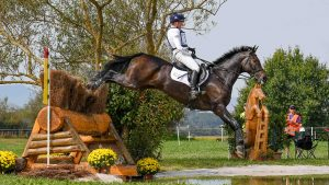 European Eventing Championships cross-country: Nicola Wilson and JL Dublin