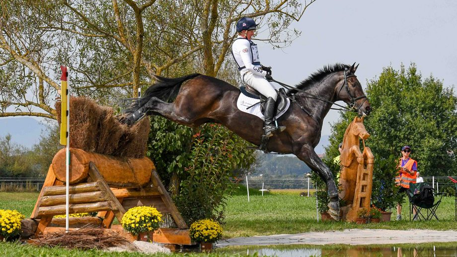 European Eventing Championships cross-country: Nicola Wilson and event horse JL Dublin