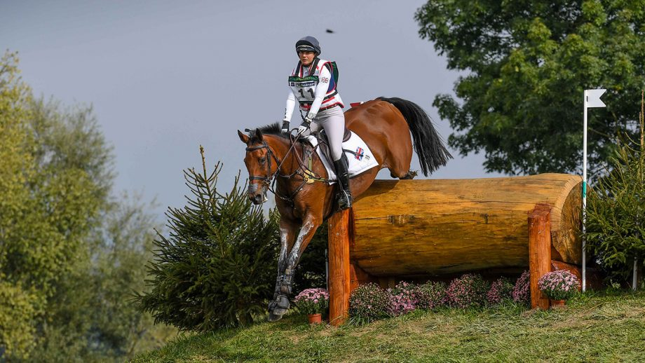 European Eventing Championships cross-country: Piggy March and Brookfield Inocent