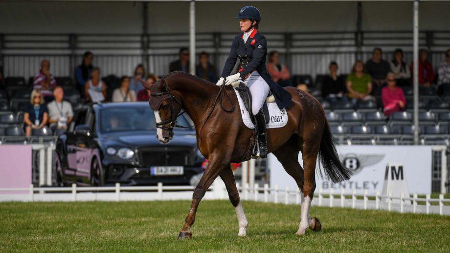 Blenheim Horse Trials dressage: Piggy March and Cooley Lancer