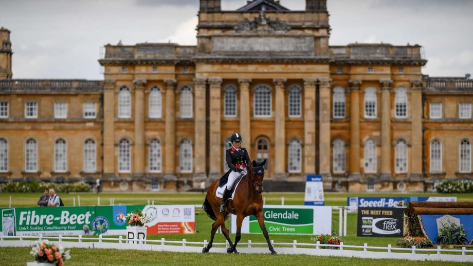 Blenheim Horse Trials dressage results Friday: Pippa Funnell on Maybach