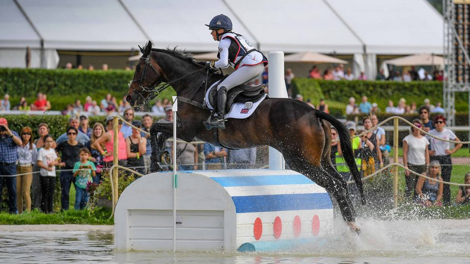 European Eventing Championships cross-country: Ros Canter and Allstar B