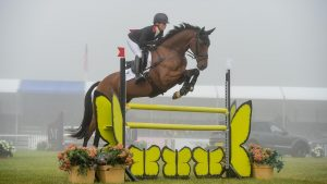 Blenheim Horse Trials showjumping: Ros Canter and Izilot DHI continue their lead in the young horse CCI4*-S