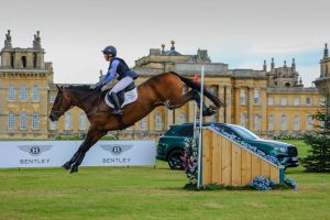 Blenheim horse trials cross-country: Ros Canter and Lordships Graffalo
