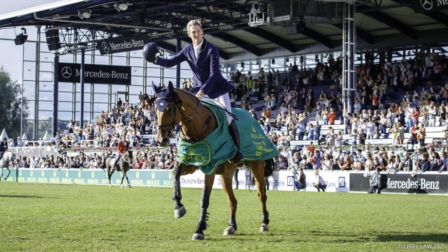 Aachen grand prix: Daniel Deusser rides Killer Queen to take the win