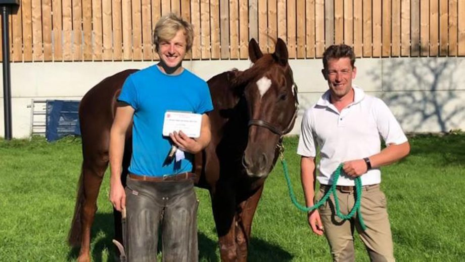 Blenheim Horse Trials best-shod horse prize