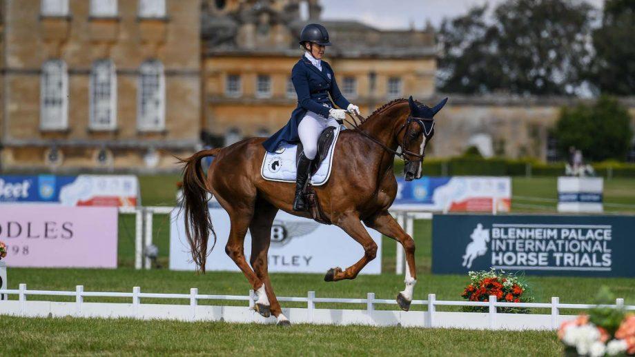 Blenheim Horse Trials: Yasmin Inham and Banzai Du Loir hold their dressage lead