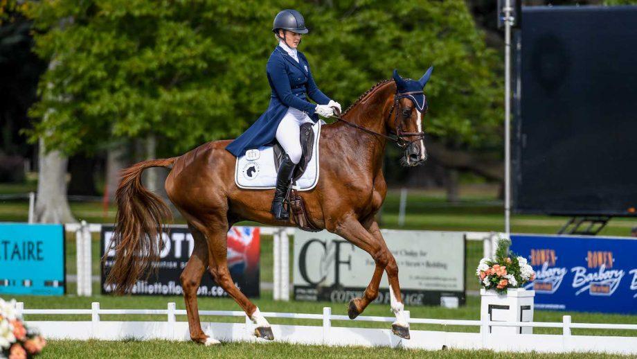 Blenheim Horse Trials dressage: Yasmin Ingham and Banzai Du Loir are day one overnight leaders
