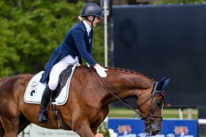 Blenheim Horse Trials dressage: Yasmin Ingham and Banzai Du Loir