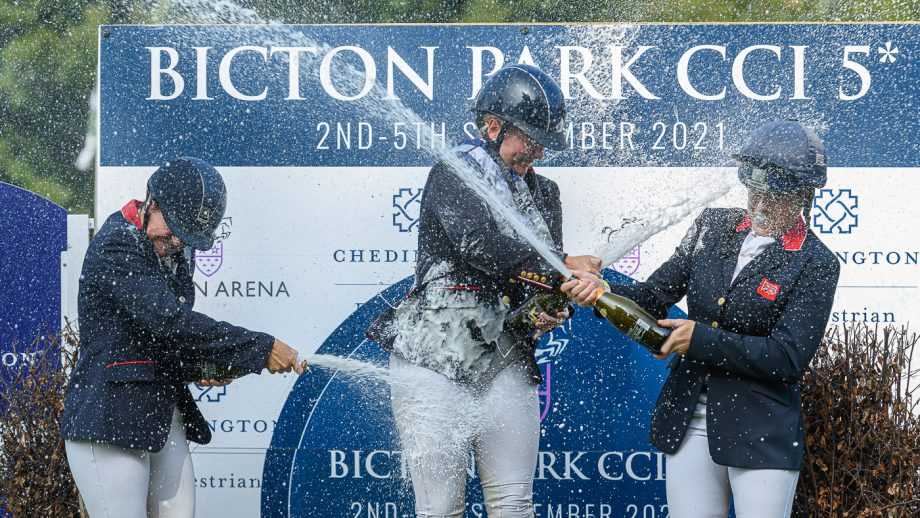 Gemma Tattersall engaged: boyfriend Gary Stevens popped the question after Gemma's win at Bicton Horse Trials