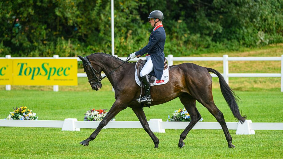 Bicton Horse Trials dressage: Oliver Townend and MHS King Joules